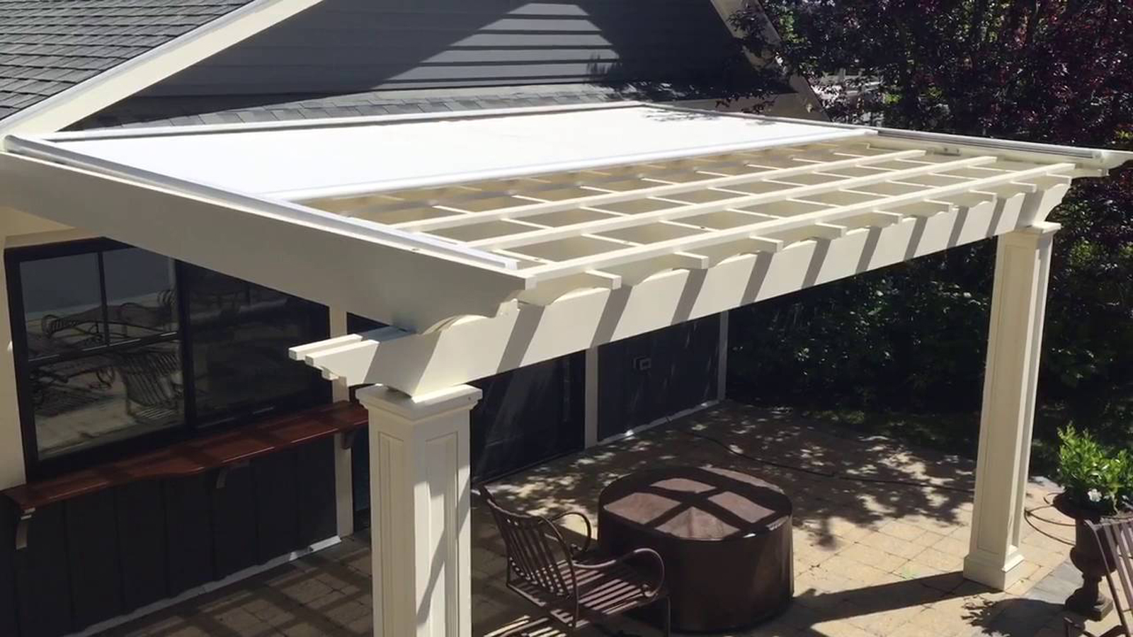 New Pergola Awning System Home Check Plus