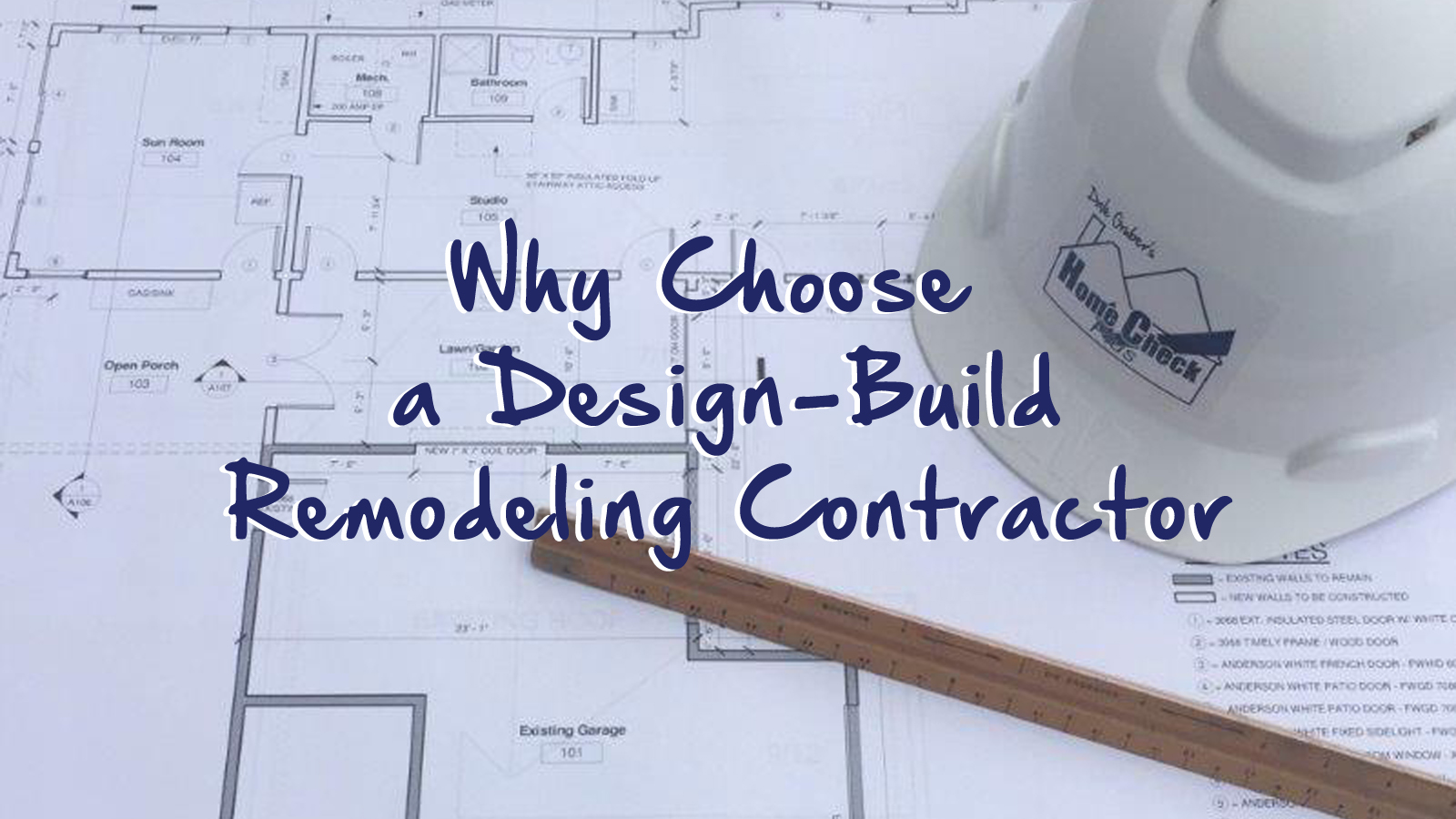 Why Choose A Design Build Remodeling Contractor Home