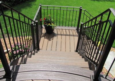 deck and rails