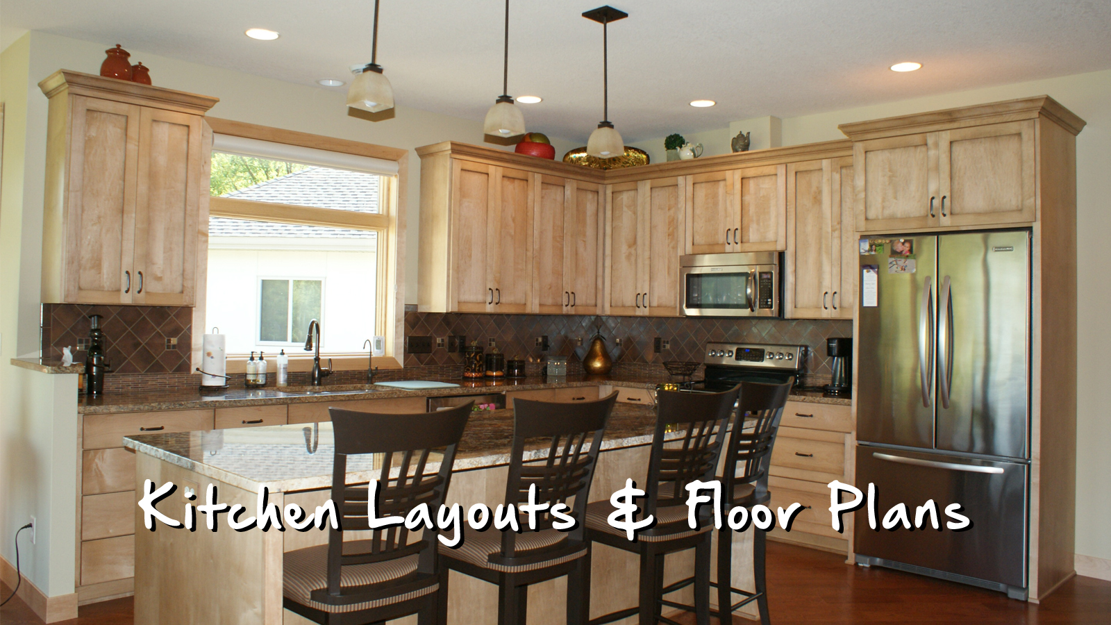 Kitchen Layouts & Floor Plans