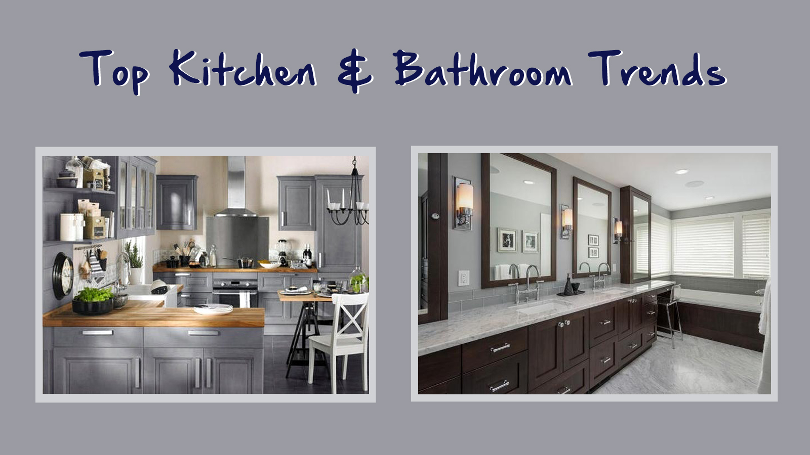 Top Kitchen & Bathroom Trends - Home Check Plus