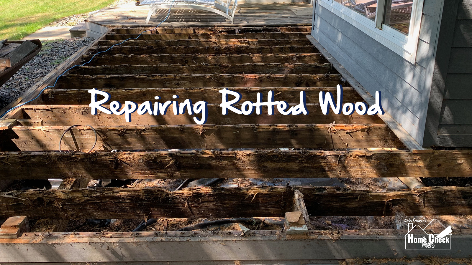 Repairing Rotted Wood